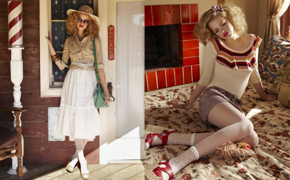 Hailey Clauson Jill by Jill Stuart Spring 2011