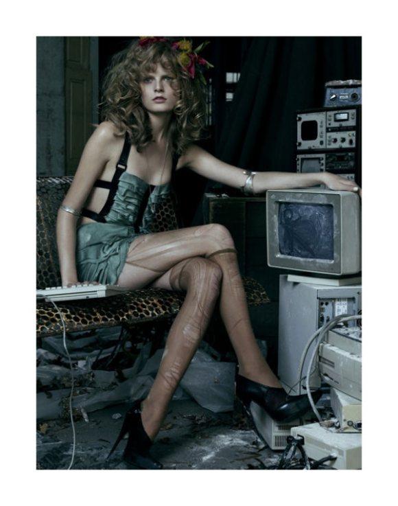 Hanne Gaby Odiele Vogue Korea