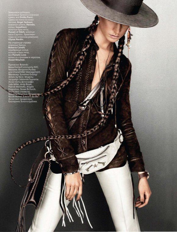 Jacquelyn Jablonski Vogue Russia March 2011