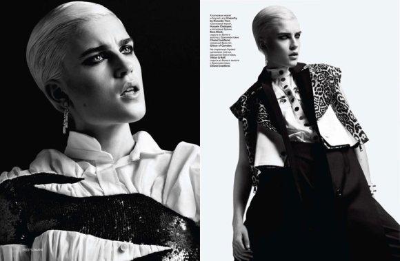Jana Knauerova Vogue Russia March 2011 3