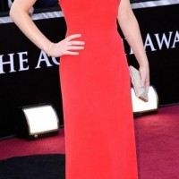 Jennifer Lawrence at 2011 Oscars Red Carpet