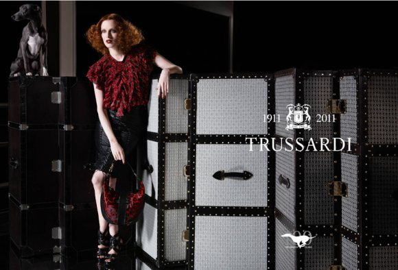 Karen Elson Trussardi 1911 Spring 2011
