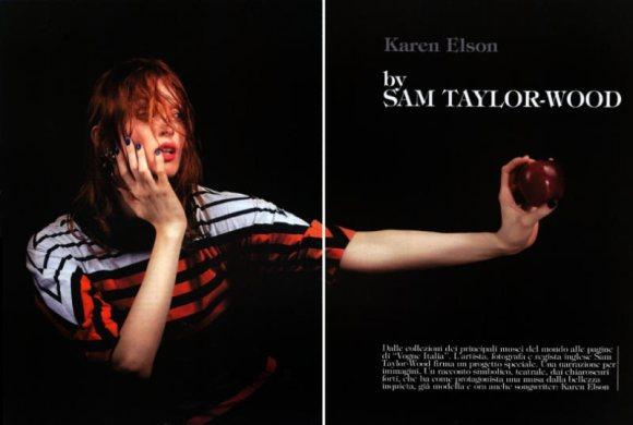 Karen Vogue Italia March 2011 1