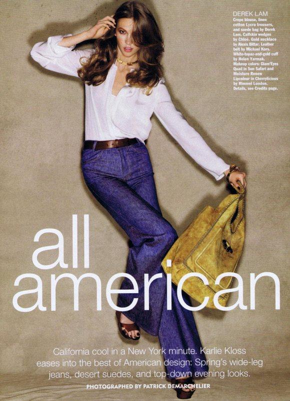Karlie Kloss Allure March 2011 1
