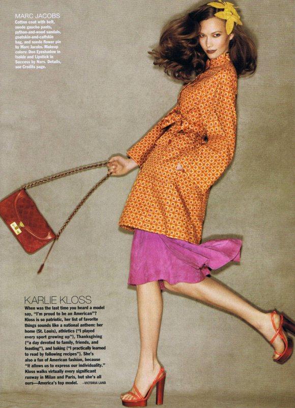 Karlie Kloss Allure March 2011 8