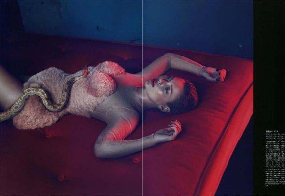 Kate Moss Vogue Japan May 2011