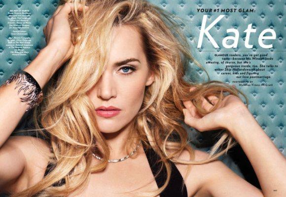 Kate Winslet Glamour April 2011 1