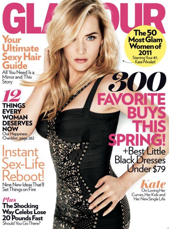 Kate Winslet Glamour April 2011 2