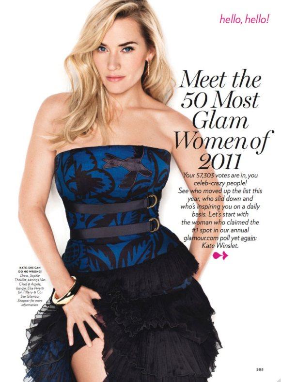 Kate Winslet Glamour April 2011 3