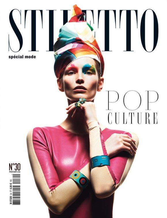 Katrin Thormann  Stiletto Magazine Spring 2011