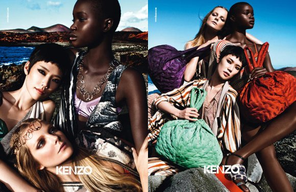Kenzo Spring 2011 Campaign 1