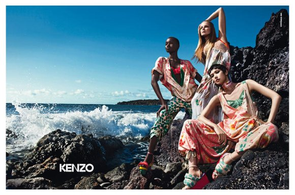 Kenzo Spring 2011 Campaign 2