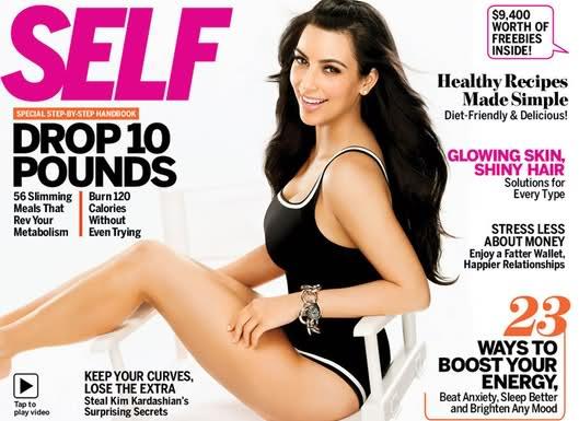 Kim Kardashian Self Magazine April 2011-2