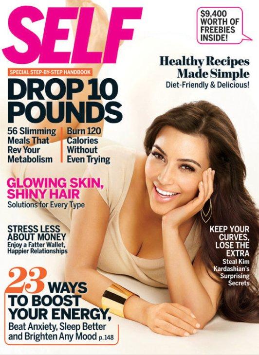 Kim Kardashian Self Magazine April 2011