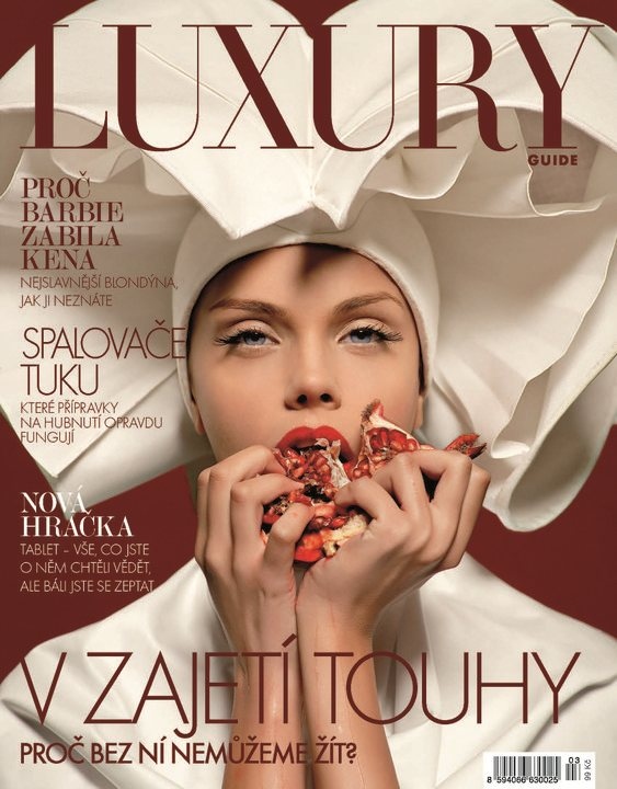 Luxury Guide Czech Spring 2011 cover
