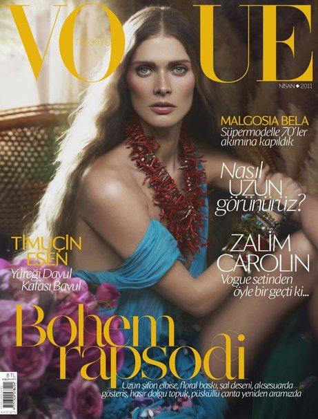 Malgosia Bela Vogue Turkey April 2011