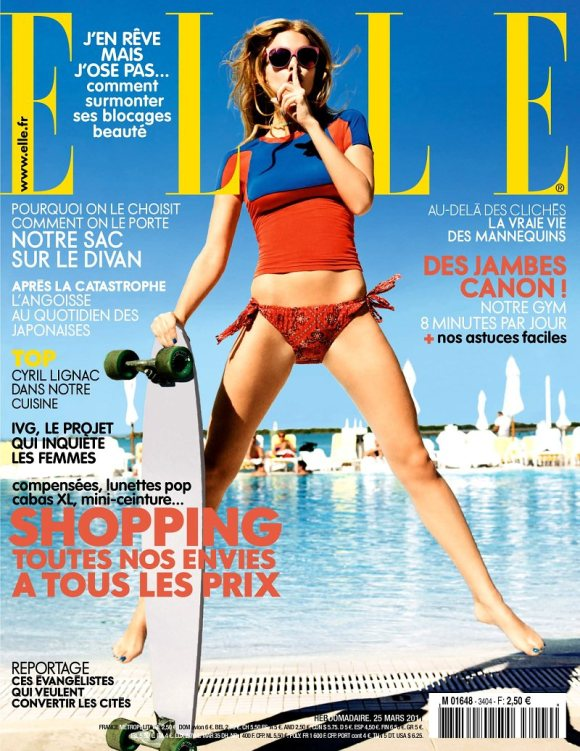 Marloes Elle France March 2011