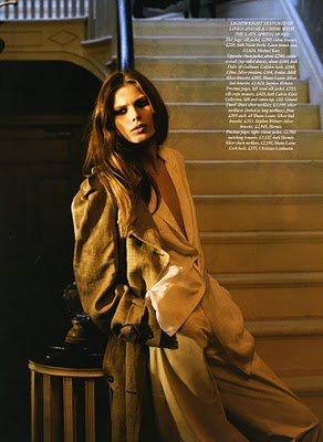 Monica Sawicka  Harpers Bazaar UK April 2011