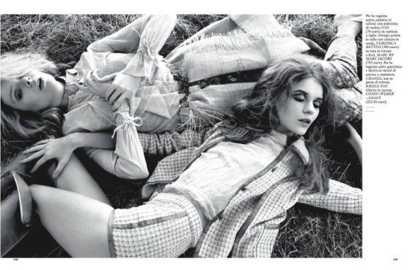 Natalie Inna Glamour Italia April 2011
