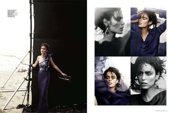 Nicole Trunfio Harpers Bazaar Singapore April
