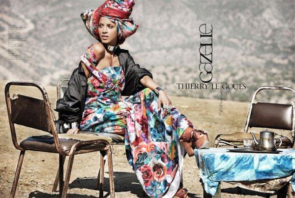 Noemie Lenoir French Revue de Modes S S 2011 1