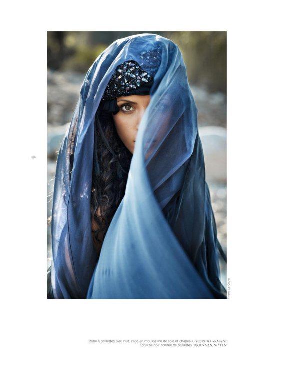 Noemie Lenoir French Revue de Modes S S 2011 11