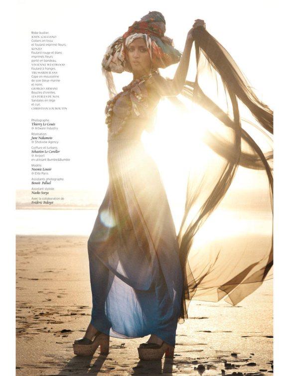 Noemie Lenoir French Revue de Modes S S 2011 12
