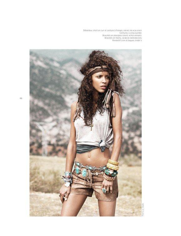 Noemie Lenoir French Revue de Modes S S 2011 4