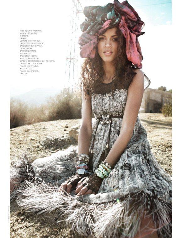 Noemie Lenoir French Revue de Modes S S 2011 5