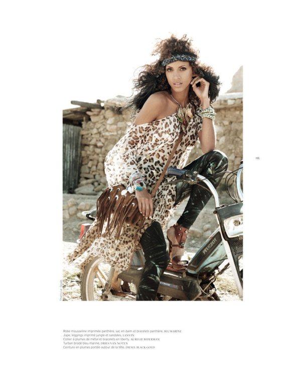 Noemie Lenoir French Revue de Modes S S 2011 6