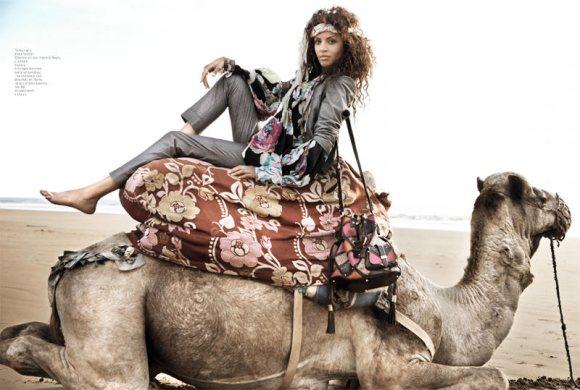 Noemie Lenoir French Revue de Modes S S 2011 7
