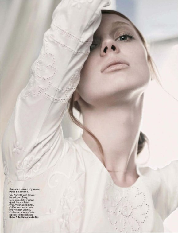 Olga Sherer Vogue Russia March 2011 1