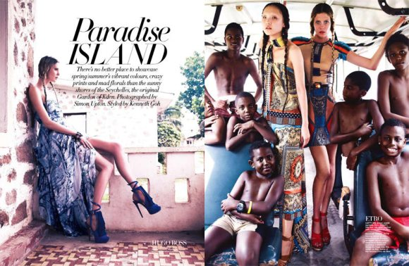 Paradise Island Harpers Bazaar Singapore