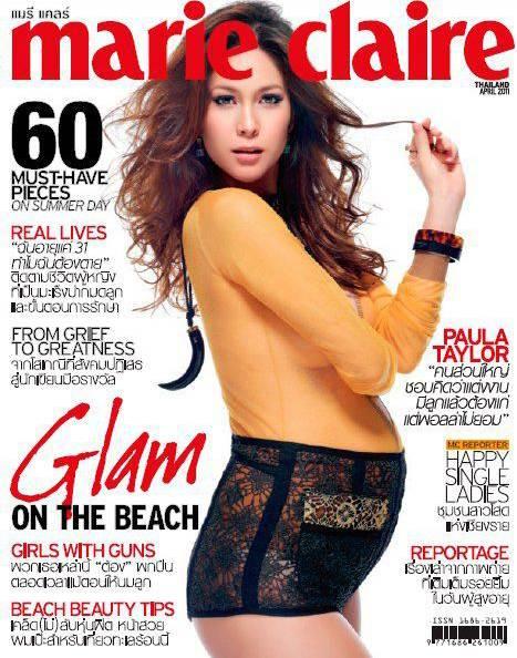 paula taylor for marie claire thailand april 2011