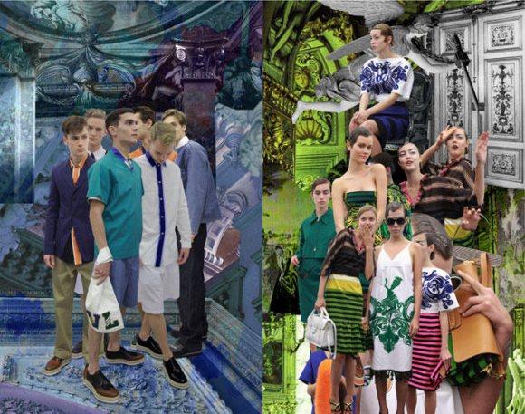 Prada Fantasy Lookbook Spring 2011