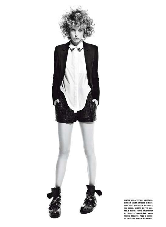 Raquel Zimmermann Vogue Italia March 2011