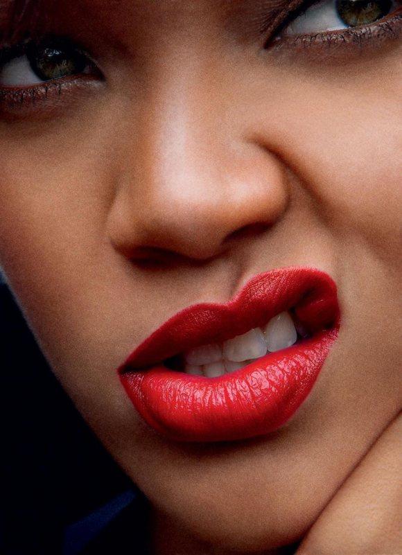 Rihanna Vogue US April 2011