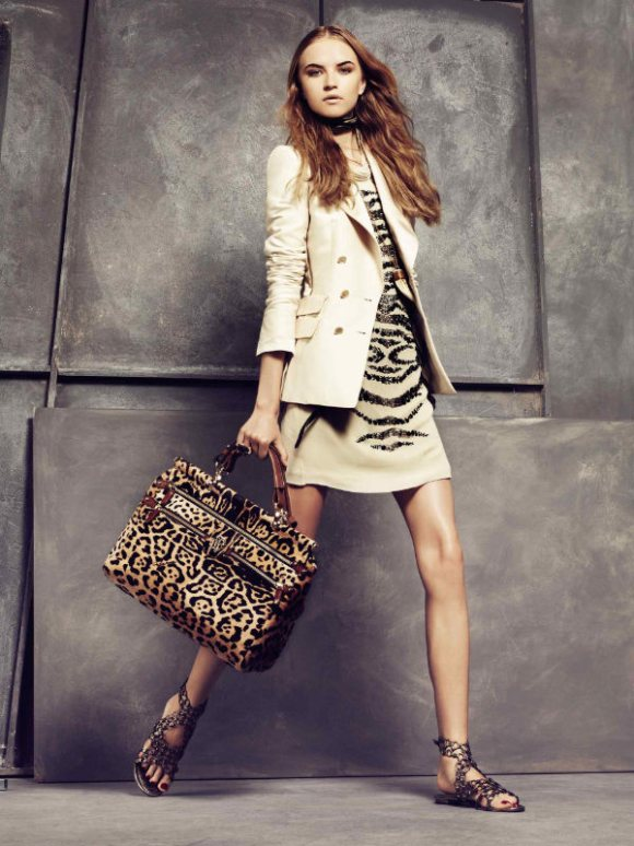 Roberto Cavalli Spring 2011 Lookbook