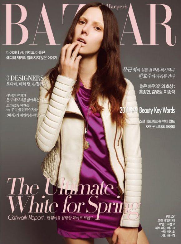 Ruby Aldridge by Dancian (Harper's Bazaar Korea March 2011)