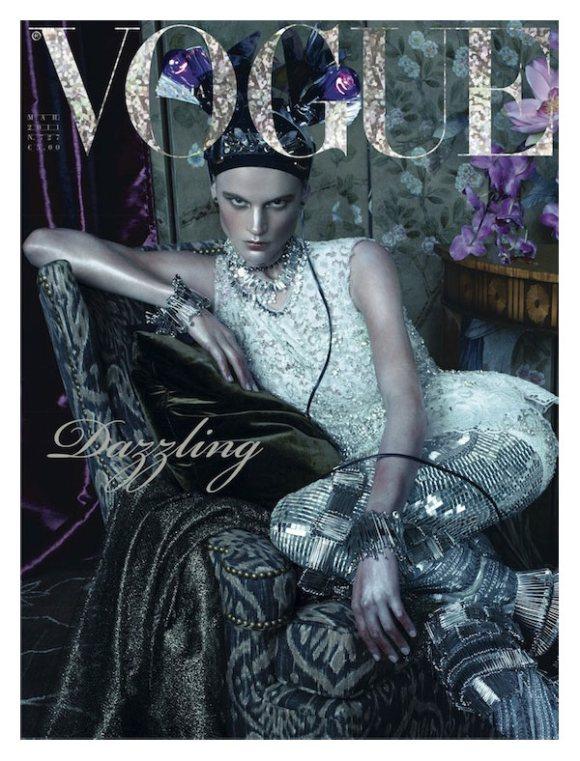 Saskia de Brauw Vogue Italia March 2011