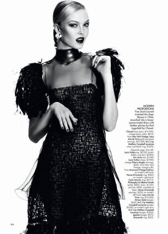 Siri Tollerod Harpers Bazaar Australia March 2011 4