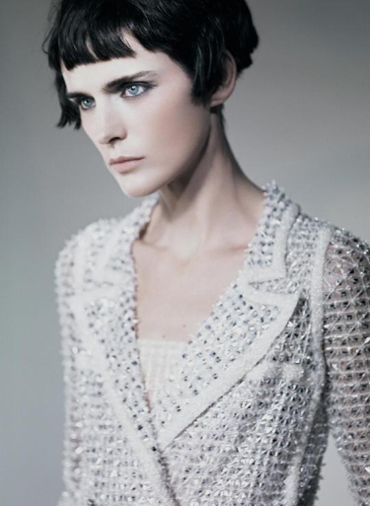 Stella Tennant Vogue Italia March 2011