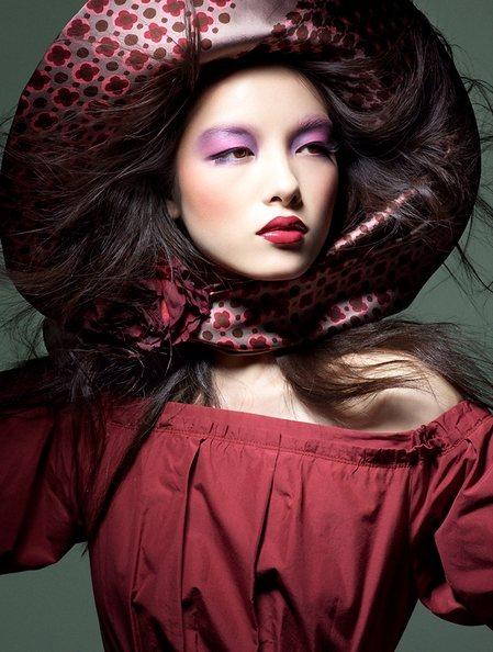 Sun Feifei Vogue China March 2011
