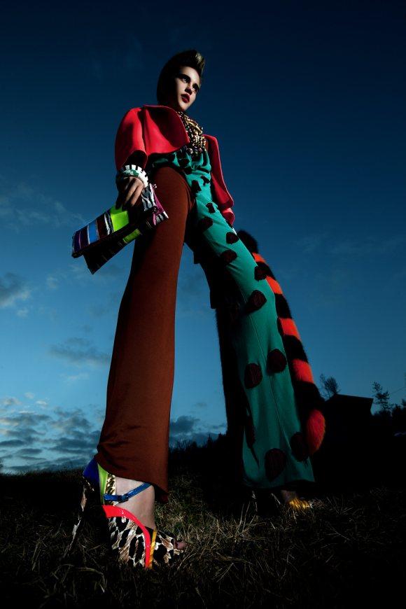Svetlana Kuznetsova Vogue Accessory March 2011