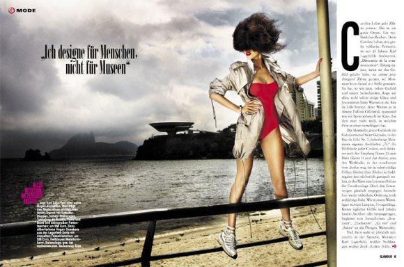 Thais Oliveira Glamour Germany
