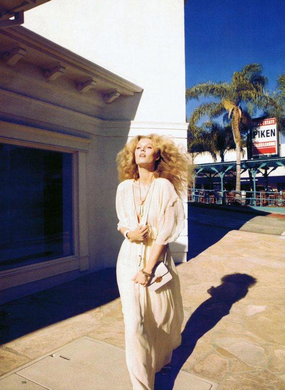 Toni Garrn Harpers Bazaar US April 2011