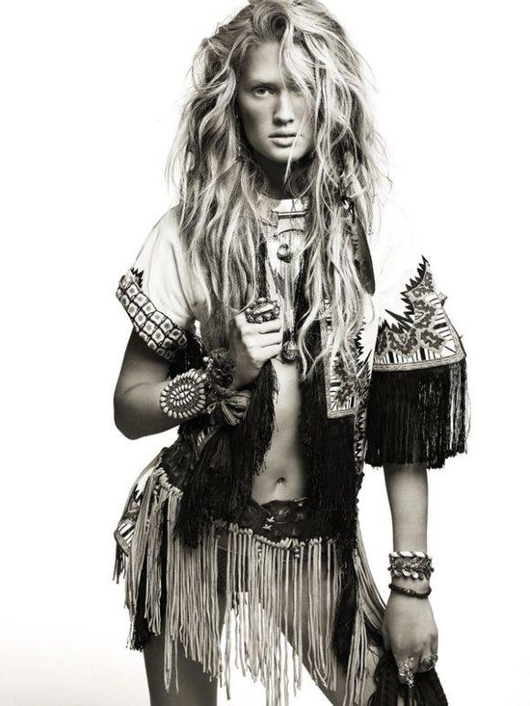 Toni Garrn Vogue Spain April 2011