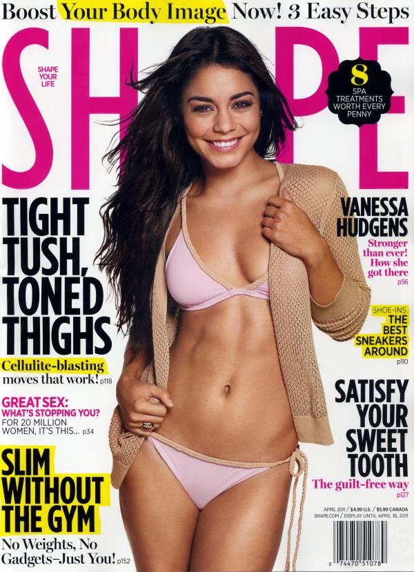 Vanessa Hudgens Shape Magazine April 2011