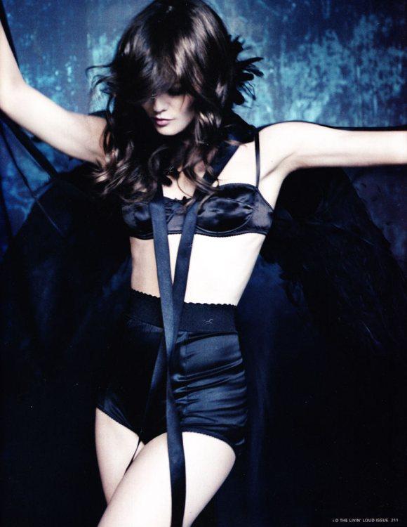 Vanessa Paradis Chanel for i D Pre Spring 2011 3