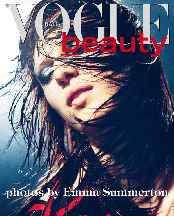 Vogue Italia March 2011 Beauty Editorial